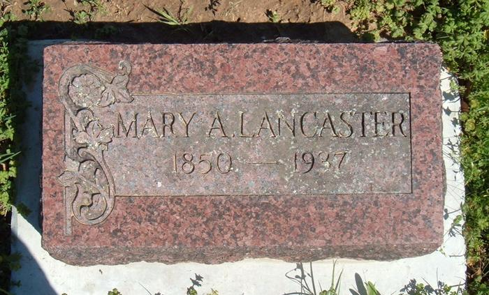 Mary Ann <i>Armstrong</i> Lancaster