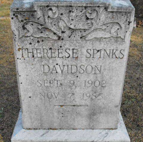 Thereese <i>Spinks</i> Davidson