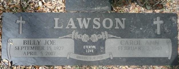 Billy Joe Lawson