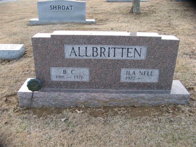 Ila Nell <i>Nesbitt</i> Allbritten