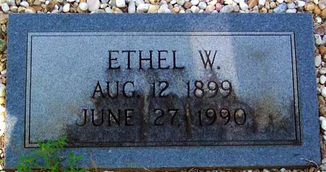 Ethel W Clegg