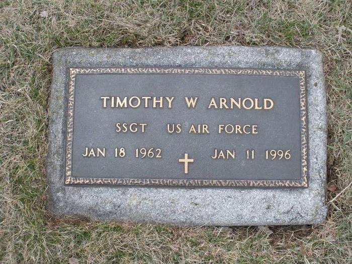 SSGT Timothy Ward Arnold