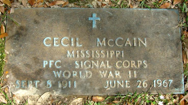PFC Cecil McCain