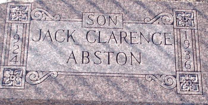 Jack Clarence Abston