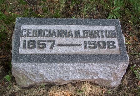 Georgianna M. <i>Burton</i> Burton
