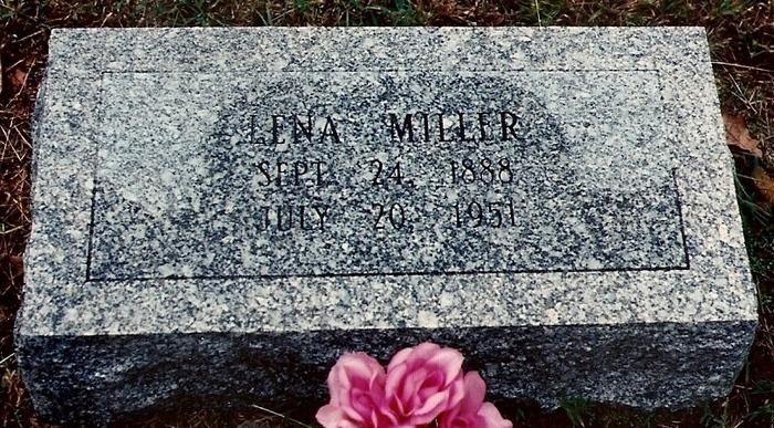 Lena <i>Williams</i> Miller