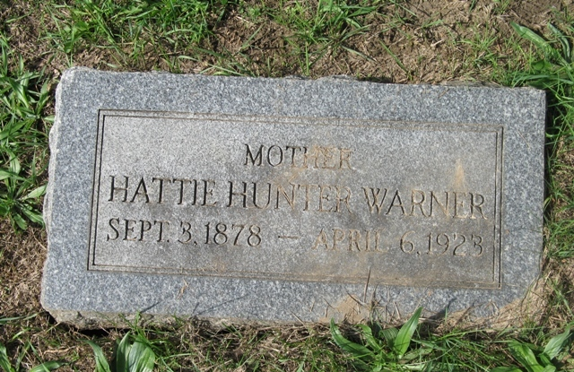 Hattie Lorena <i>Hunter</i> Warner