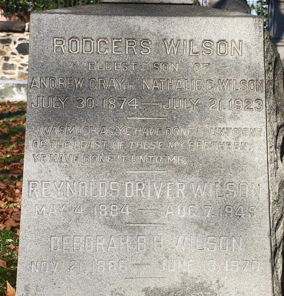 Reynolds Driver Wilson