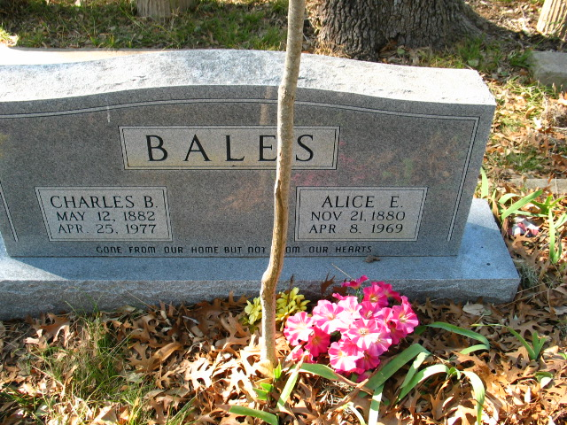 Alice Elizabeth <i>Conner</i> Bales