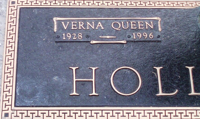 Verna <i>Queen</i> Hollifield