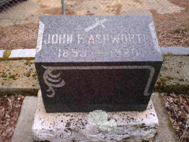 John F Ashworth