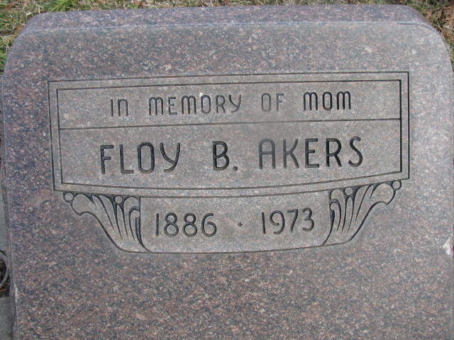 Floy B. <i>Jones</i> Akers
