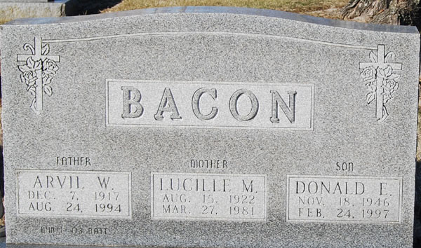 Lucille M Bacon