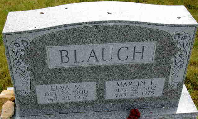 Marlin L Blauch