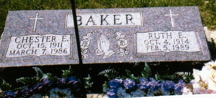 Ruth E. <i>Bowers</i> Baker