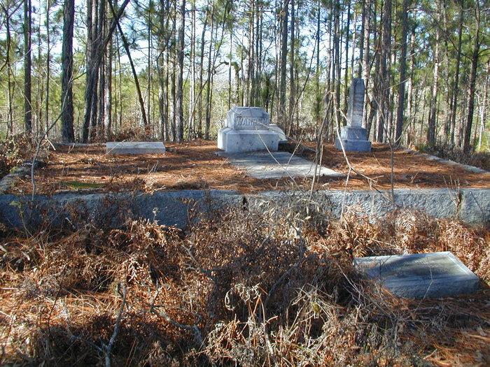 Warren Cemetery #1 in Georgia - Find A Grave Cemetery