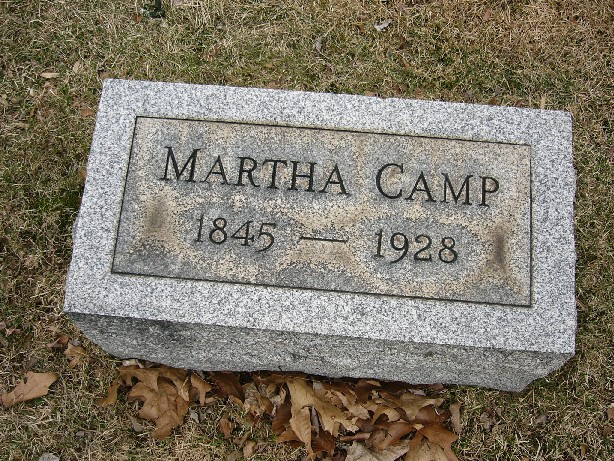 Martha <i>Chapman</i> Camp