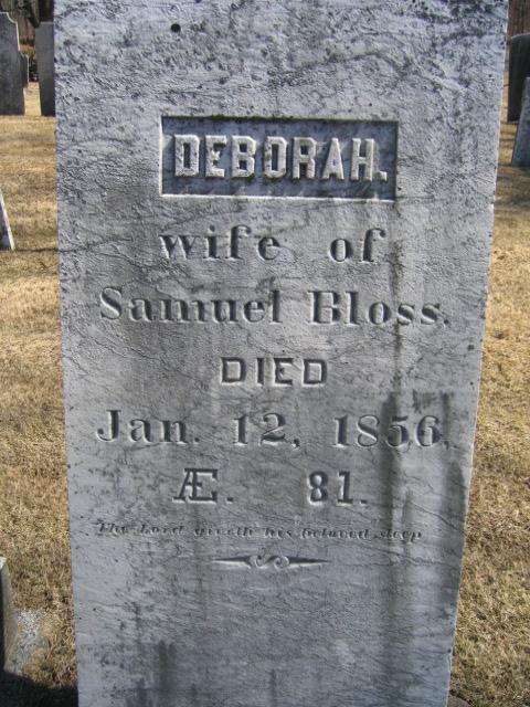 Deborah <i>Allen</i> Bloss
