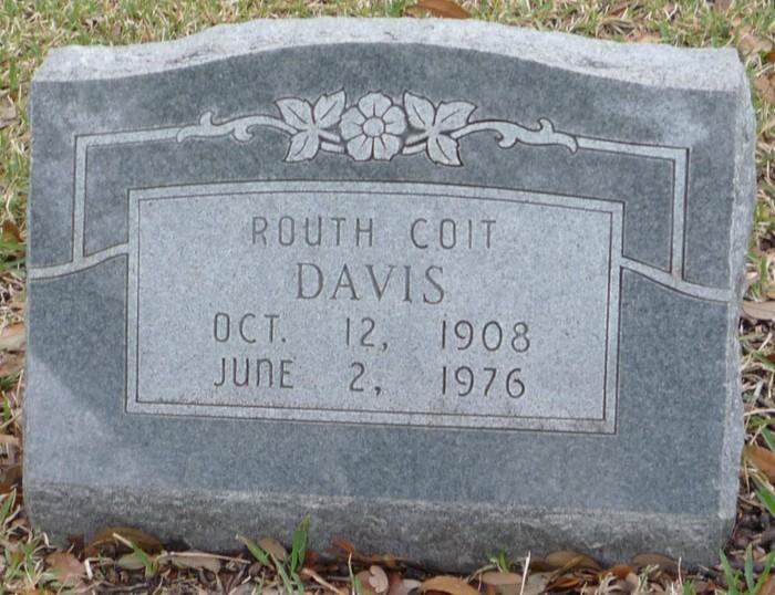 Routh <i>Coit</i> Davis