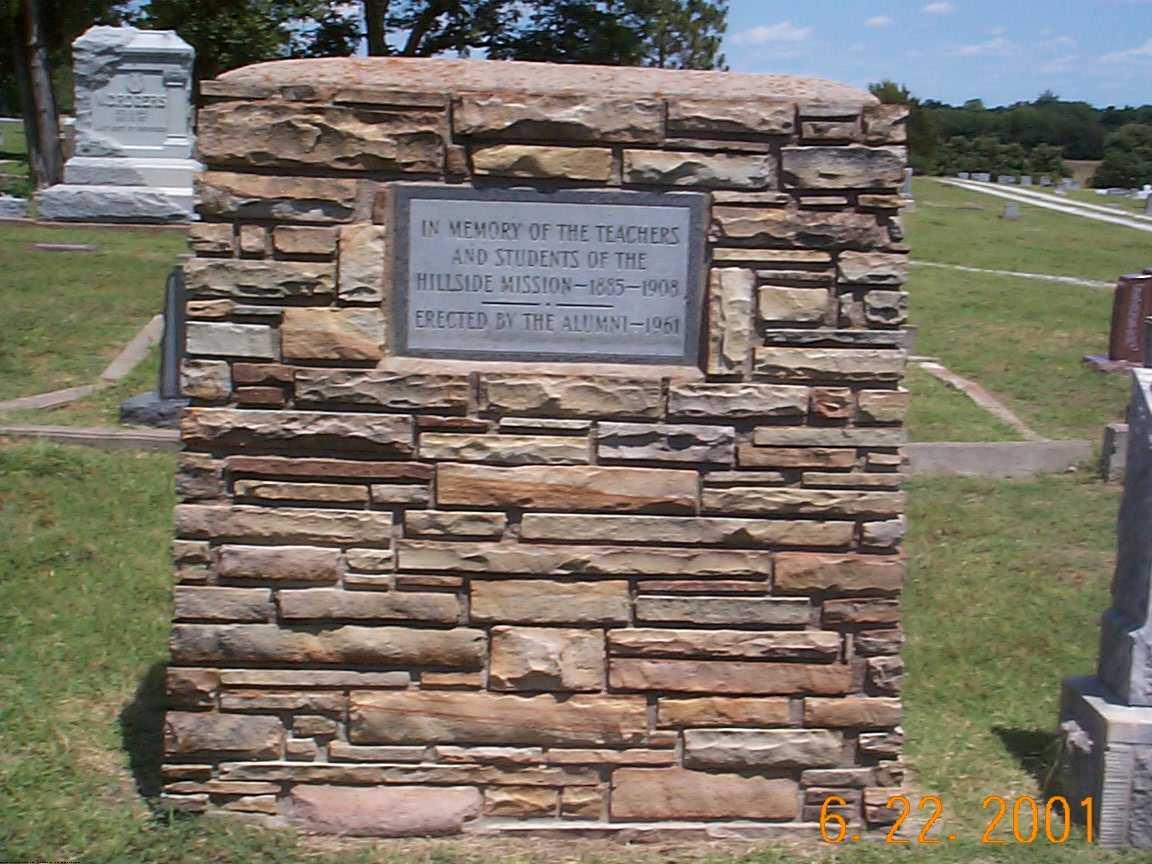 Hillside Mission Cemetery