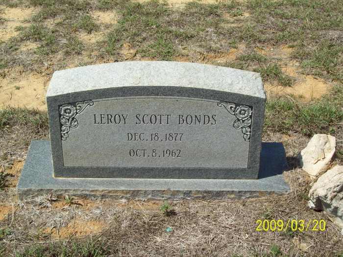 Leroy Scott Bonds