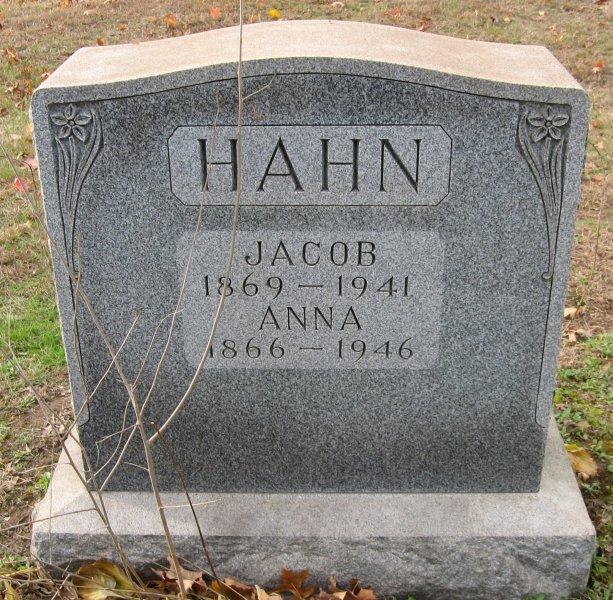 Anna <i>Oltze</i> Hahn