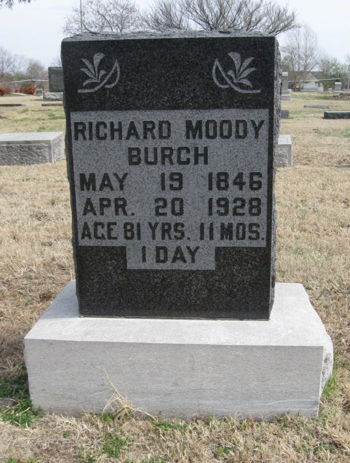 Richard Moody Burch