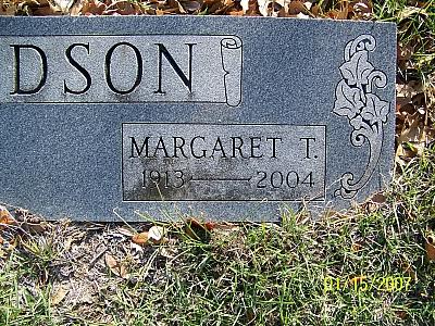 Margaret T Hudson