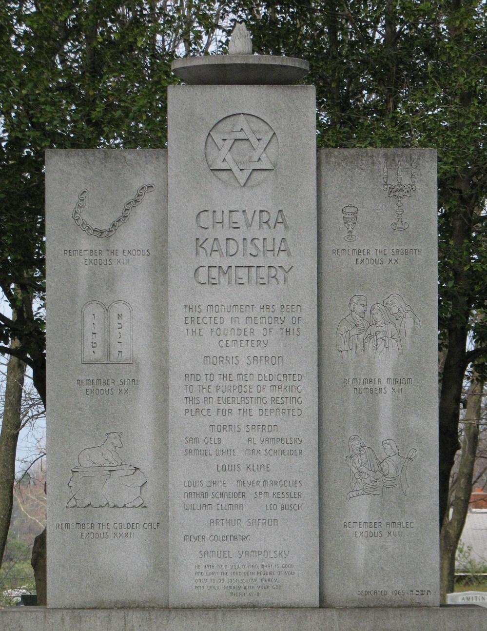 Chevra Kadisha Adas B'nai Israel Vyeshurun