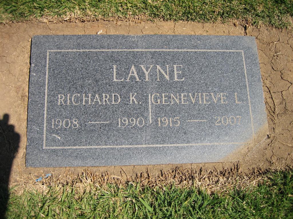 Richard Kenneth Layne