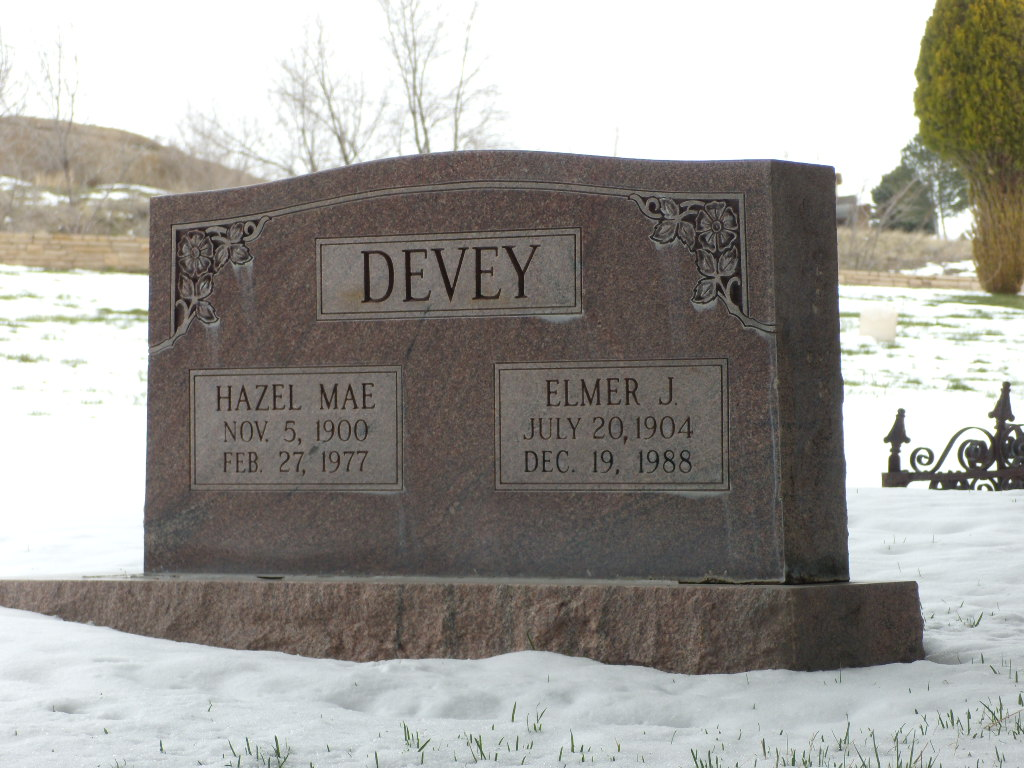 Elmer Joseph Devey