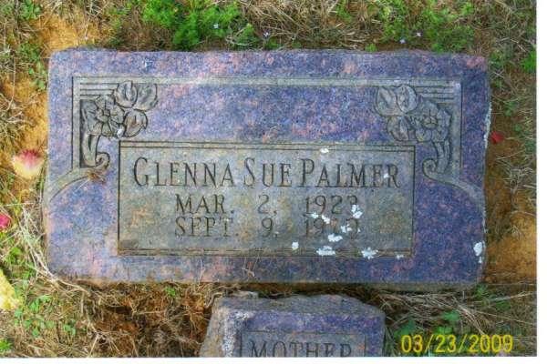 Glenna Sue <i>Pettit</i> Palmer