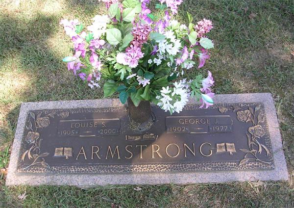 Louise Frances Adeline <i>Sadler</i> Armstrong