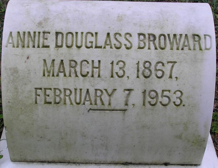 Annie Isabell <i>Douglass</i> Broward