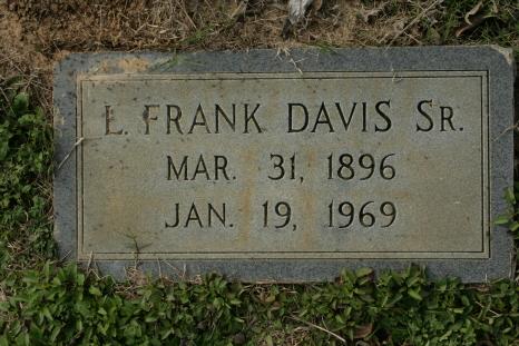 L. Frank Davis, Sr