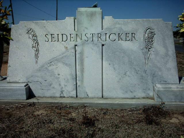 Leonard Frederick Fred Seidenstricker