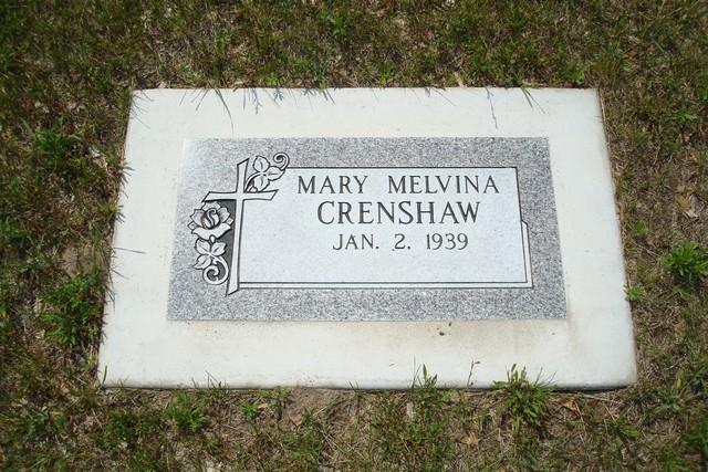 Mary Melvina Crenshaw
