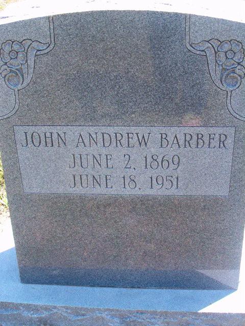 John Andrew Barber