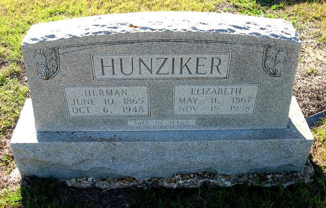 Elizabeth <i>Wernli</i> Hunziker