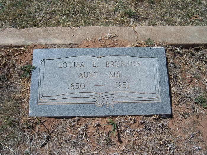 Louisa E Brunson