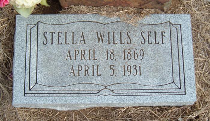 Stella <i>Wills</i> Self