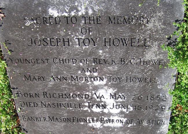 Joseph Toy Howell