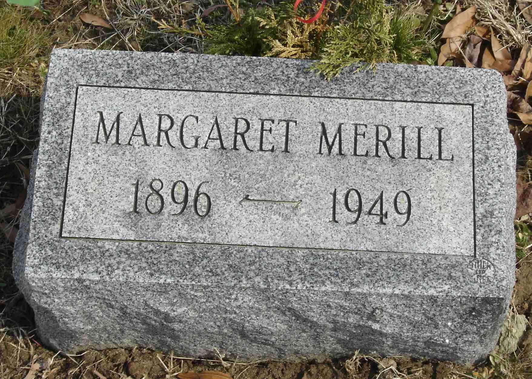 Margaret Maggie <i>Conley</i> Merill