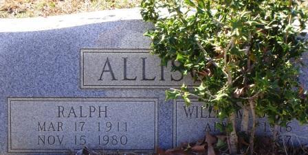Willie M <i>Brooks</i> Allison