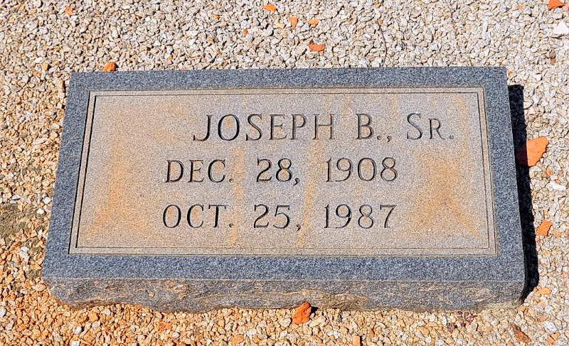 Joseph B. Booth, Sr