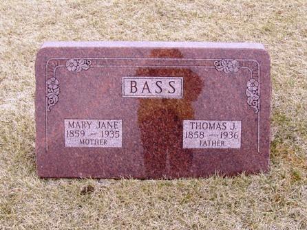 Mary Jane <i>Ward</i> Bass