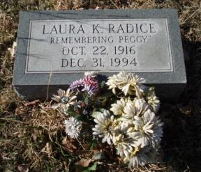 Laura Katherine Peggy <i>Taylor</i> Radice