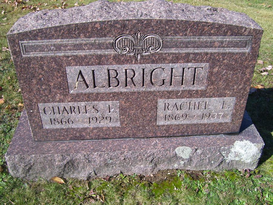 Rachel Etta <i>Harned</i> Albright