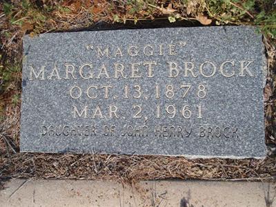 Margaret Maude Maggie Brock