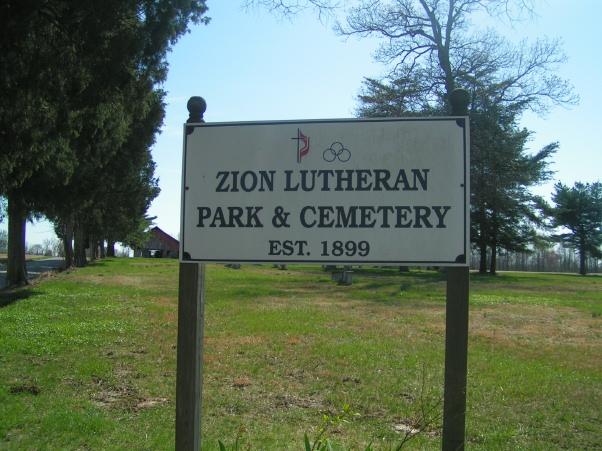 Zion Lutheran Cemetery SW 11